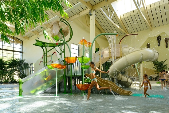Foto de Estructuras de juego y toboganes acuáticos modulares