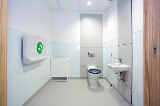 Foto de Revestimientos de paredes de higiene