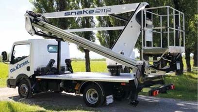 Foto de Plataforma aérea sobre camión