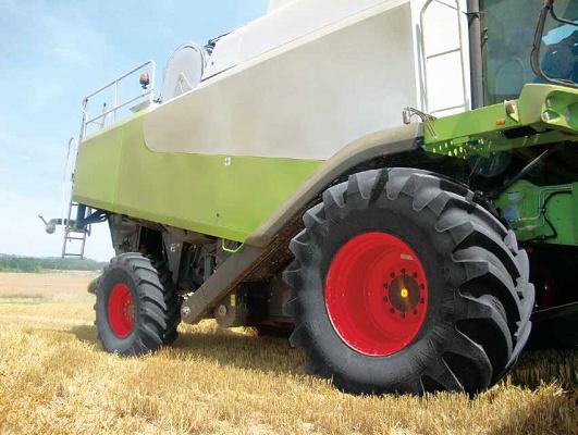 Foto de Neumáticos para cosechadoras
