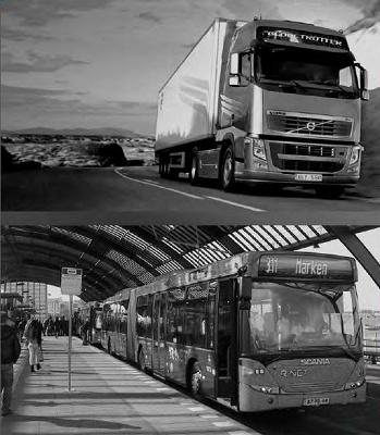 Foto de Neumáticos de camión y autobús