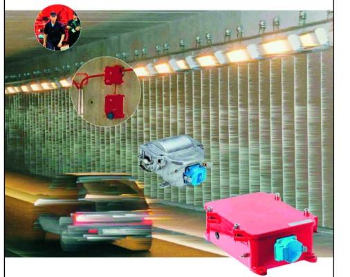Foto de Cofres de derivación para túneles