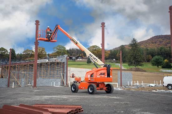 Foto de Plataformas elevadoras telescópicas
