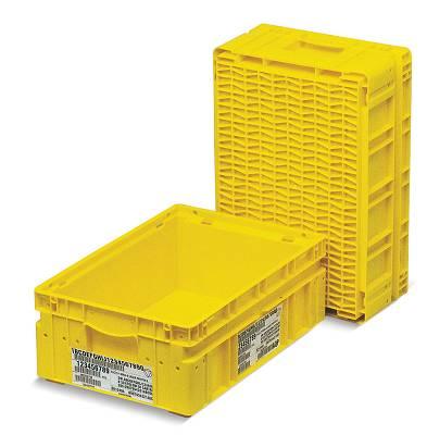 Cajas de pl stico plegables odette agricultura cajas for Cajas de plastico plegables