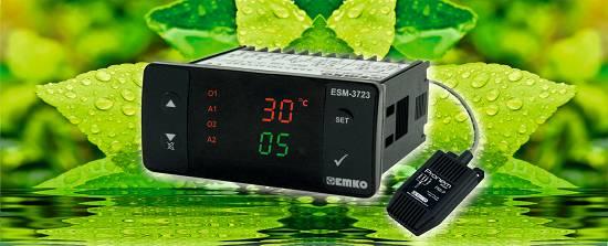 Foto de Controlador de temperatura y humedad relativa en un solo equipo