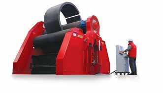Foto de Curvadoras de cuatro rodillos con CNC