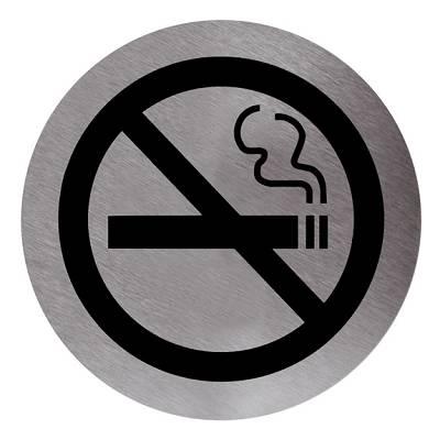 Foto de Cartel prohibido fumar adhesivo