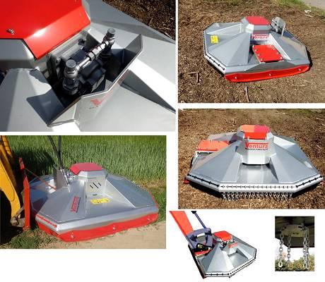 Foto de Desbrozadoras hidráulicas para excavadoras