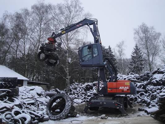 Foto de Manipuladoras de chatarra de 20 toneladas