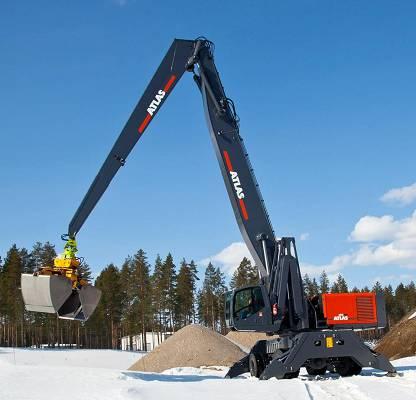 Foto de Manipuladora de chatarra de 95 toneladas