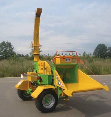 Foto de Astilladoras forestales móviles de carga manual