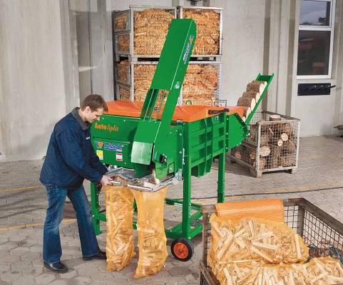 Foto de Cortadoras de troncos para leña de encendido