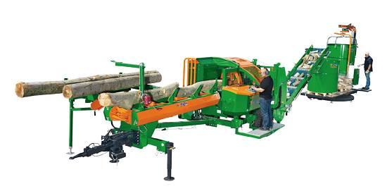 Foto de Procesador de madera compacto
