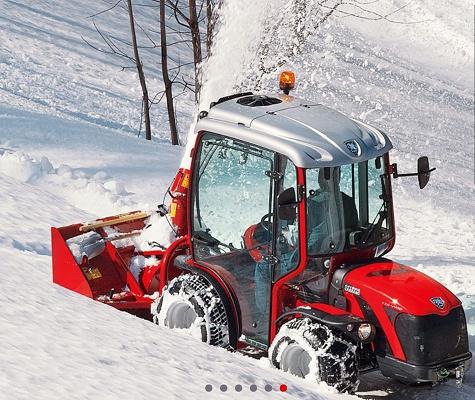 Foto de Tractor isodiamétrico reversible