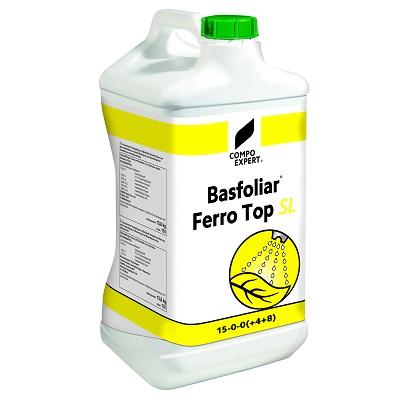 Foto de Fertilizante líquido concentrado con nitrógeno y hierro