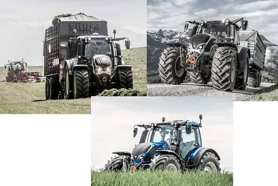 Foto de Tractores de cuatro cilindros
