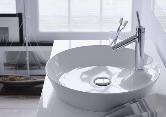 Lavabos Sobre Encimera Duravit Materiales Para La Construccion - Lavamanos-sobre-encimera