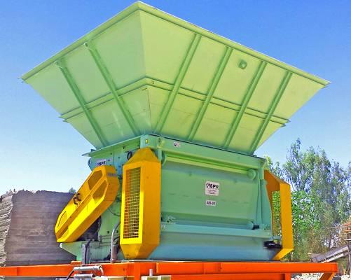 Foto de Abrebolsas para plantas de tratamiento de residuos urbanos