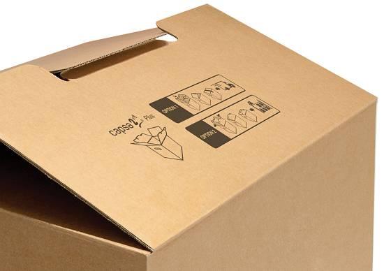 Foto de Sistemas de cierre para cajas de cartón