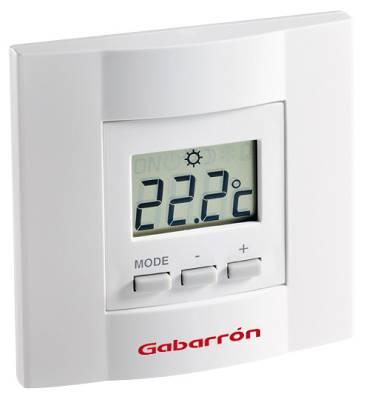 Termostato electr nico de ambiente digital gabarron ta4d - Termostato de ambiente ...