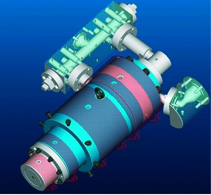 Foto de Hilera para tubos de PP de 3 capas
