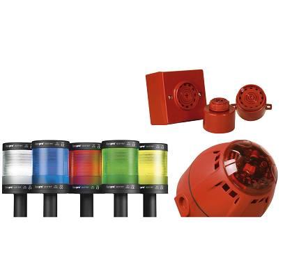 Foto de Torre luminosa, baliza o columna LED monocolor, multicolor