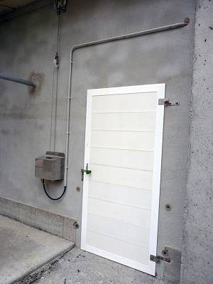 Foto de Puertas PVC para granjas