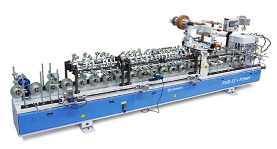Foto de Línea de recubrimiento para perfiles de PVC, aluminio y otros metales