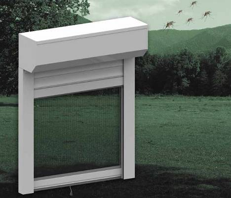 Foto de Cajón de aluminio con mosquitera