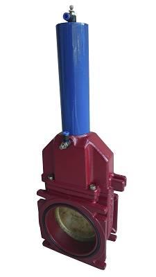 Foto de Válvula con accionamiento neumático