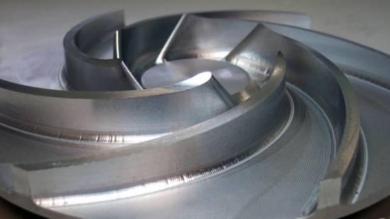 Foto de Mecanizado multiejes de alta velocidad