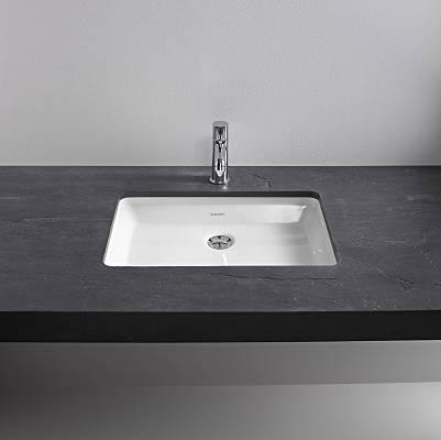 Lavabos estrechos muebles de bao con lavabo de cristal for Lavamanos empotrados