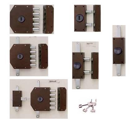 Cerraduras de sobreponer de seguridad iseo perfecta for Cerraduras para exterior