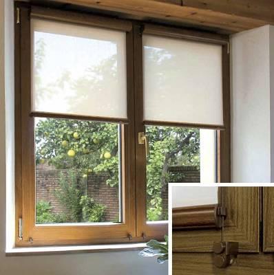 Foto de Estores instalados en la ventana o puerta