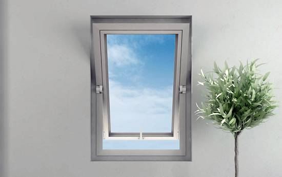 Foto de Bisagras para ventanas pivotantes