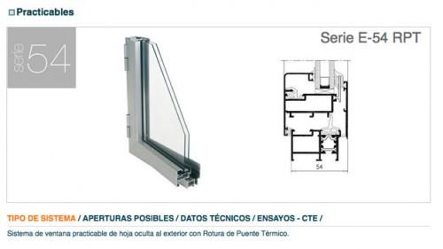 Foto de Perfiles de aluminio para ventanas