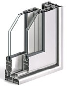 Foto de Sistema de carpintería para puertas y ventanas correderas perimetral con rotura puente térmico