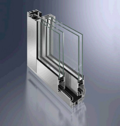 Foto de Puertas correderas de aluminio
