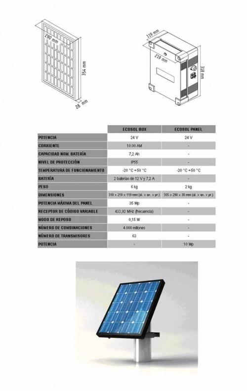 Foto de Sistema de alimentación con energía solar