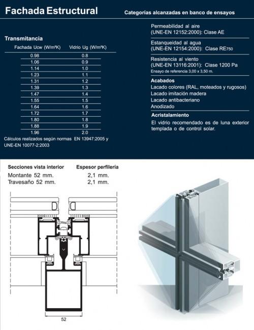 Fachada estructural materiales para la construcci n - Materiales de construccion para fachadas ...
