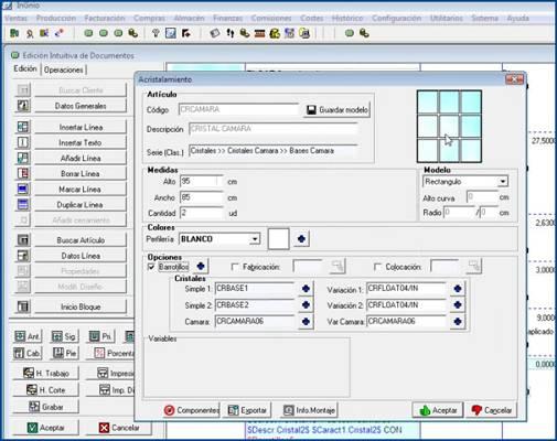 Foto de Software para cristalerías
