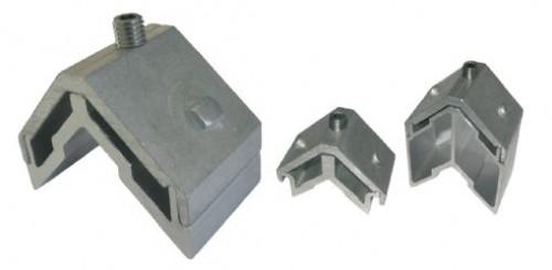 Foto de Escuadras de bloqueo tetón rectangulares