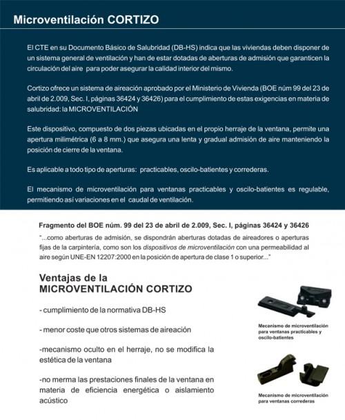 Foto de Microventilación