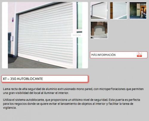 Foto de Puertas enrollables de aluminio