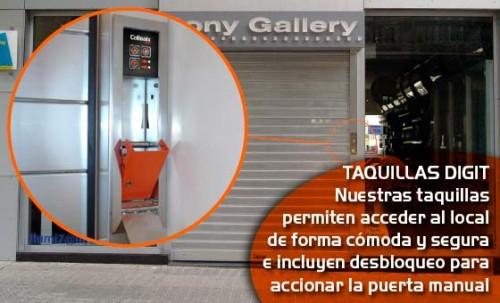 Foto de Puertas enrollables para comercios