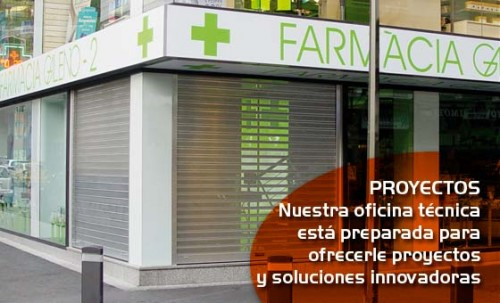 Foto de Puertas enrollables para farmacias