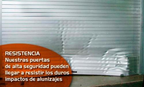 Foto de Puertas enrollables de alta seguridad