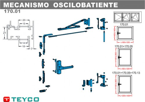 Foto de Mecanismos oscilobatientes