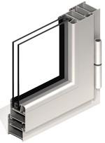 Foto de Sistema de carpintería para puertas y ventanas abatibles