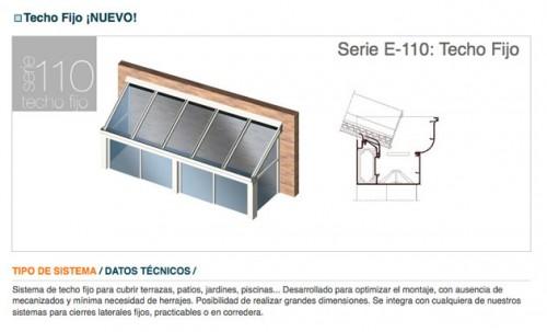 Foto de Techos fijos de vidrio
